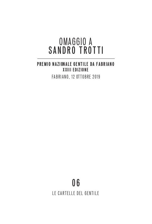 Omaggio a Sandro Trotti_2019_copertina