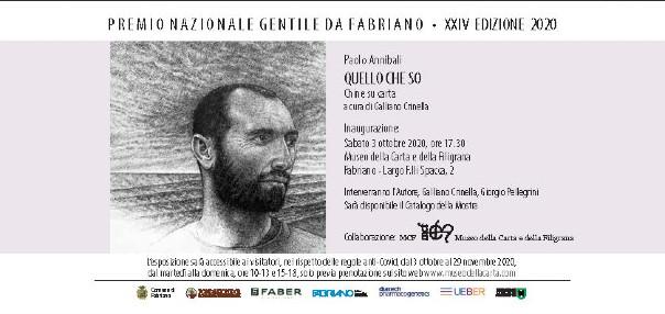 Premio Gentile 2020_QUELLO CHE SO_invito